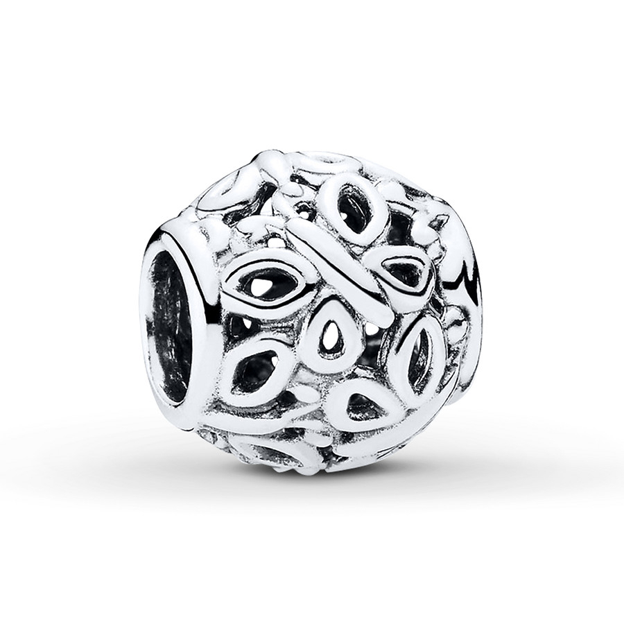 Pandora Openwork Butterflies Charm For Latest Openwork Butterfly Rings (View 12 of 25)