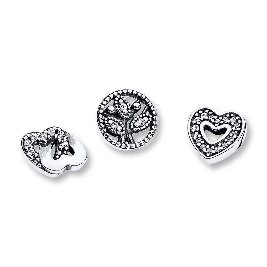 Pandora Petite Charms Love & Family Sterling Silver With Newest Love & Family Petite Locket Charms Necklaces (View 4 of 25)