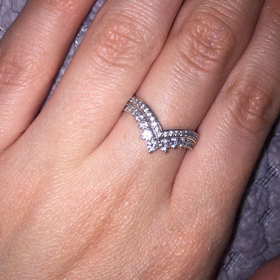 Pandora Princess Wish Ring Size (View 14 of 25)