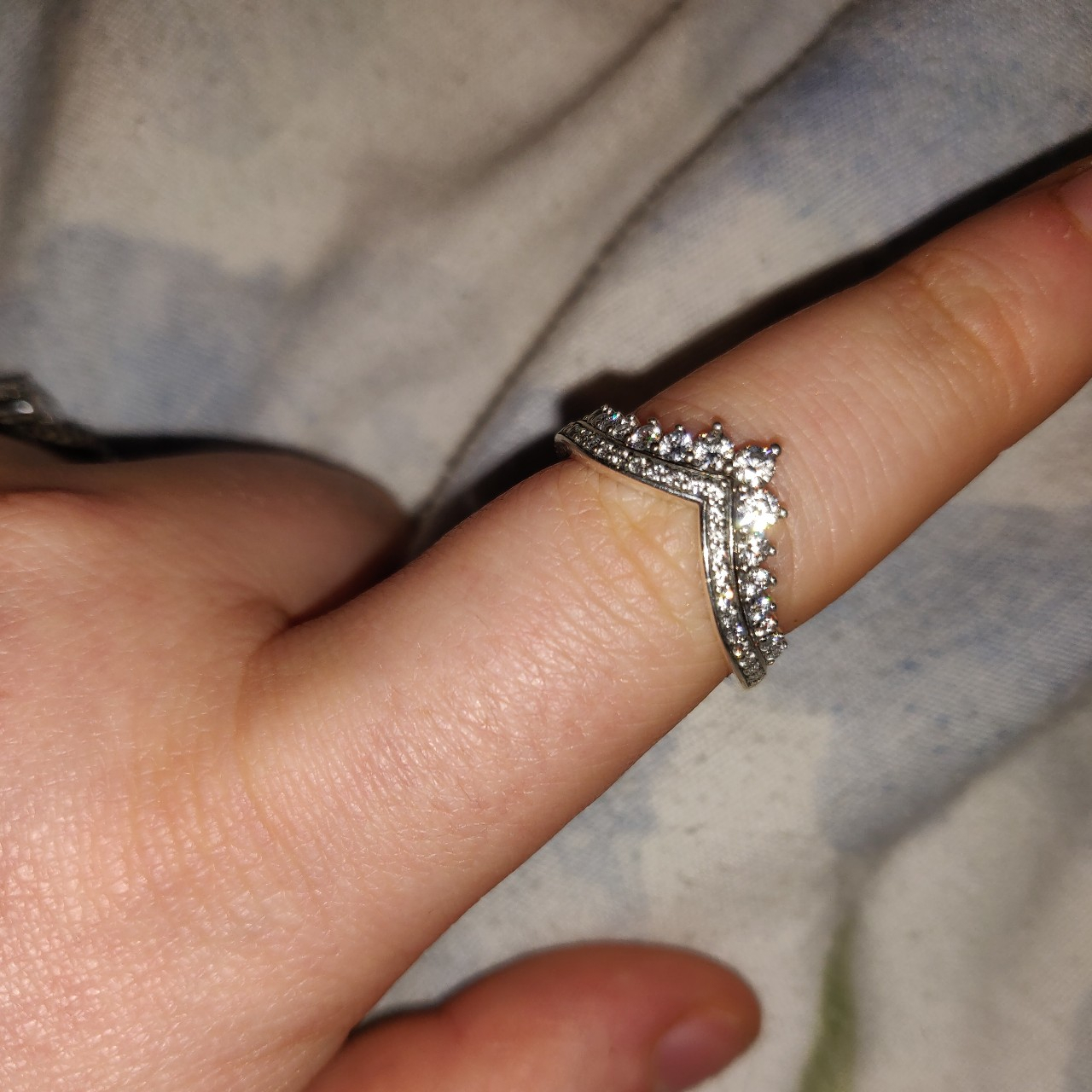 Pandora Princess Wish Ring. Size 56. Immaculate – Depop For Latest Princess Wish Rings (Gallery 20 of 25)