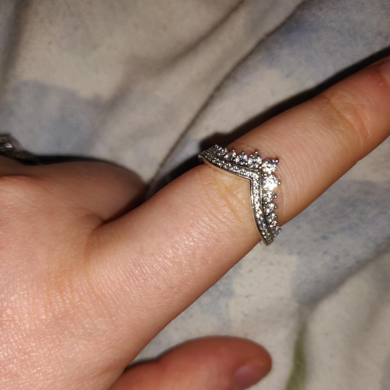 Pandora Princess Wish Ring. Size (View 20 of 25)
