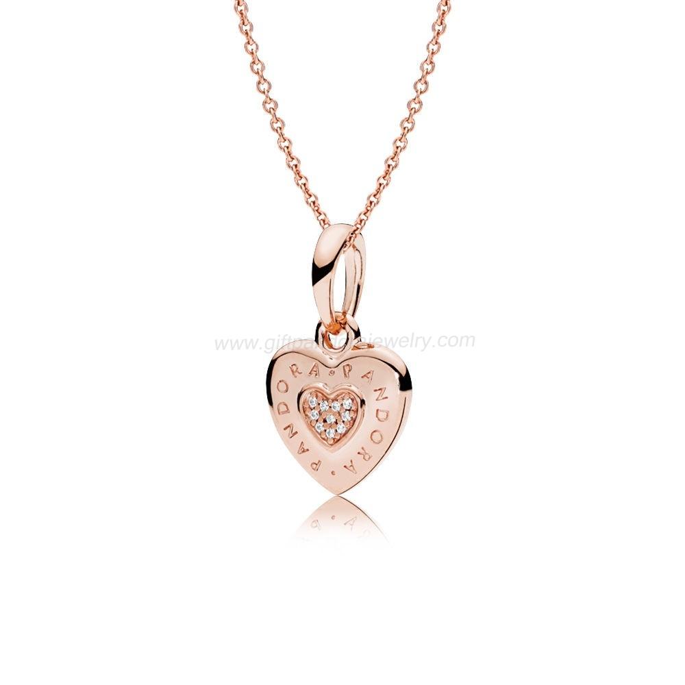 Pandora Range Of Gift Pandora Pre Autumn Collection Jewelry 2018 2019 Within Current Pandora Logo Pavé Pendant Necklaces (View 21 of 25)
