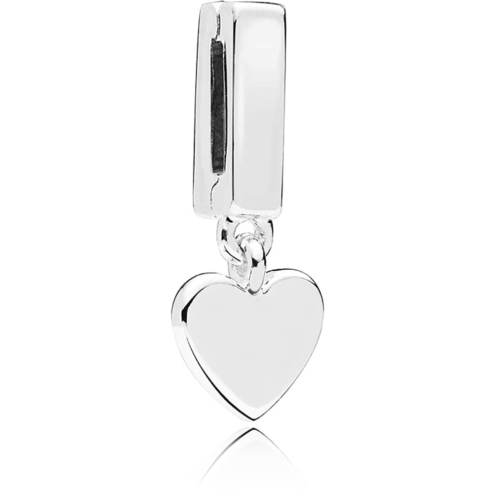 Pandora Reflexions Floating Heart Clip Charm 797643 Throughout Latest Hearts Of Pandora Necklaces (View 20 of 25)