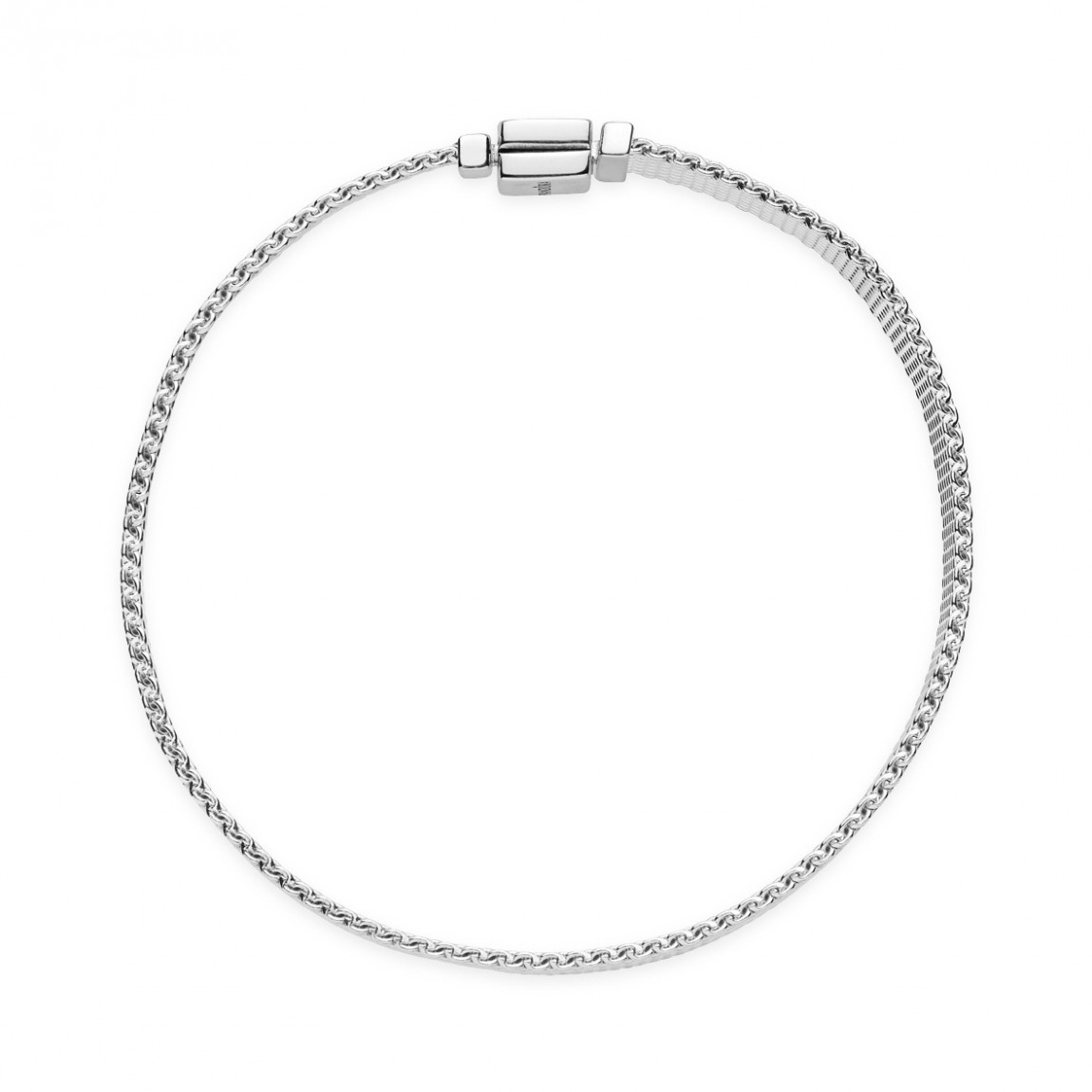 "Pandora Reflexions ""mesh"" Bracelet In Most Popular Pandora Reflexions Mesh Choker Necklaces (Gallery 19 of 25)"