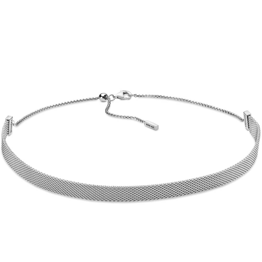 Featured Photo of Pandora Reflexions Mesh Choker Necklaces