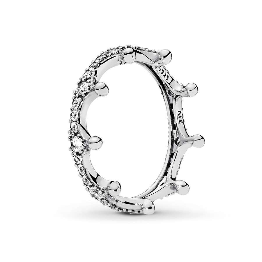 Pandora Ring Enchanted Crown Sterling Silver With Best And Newest Fairytale Tiara Rings (View 19 of 25)