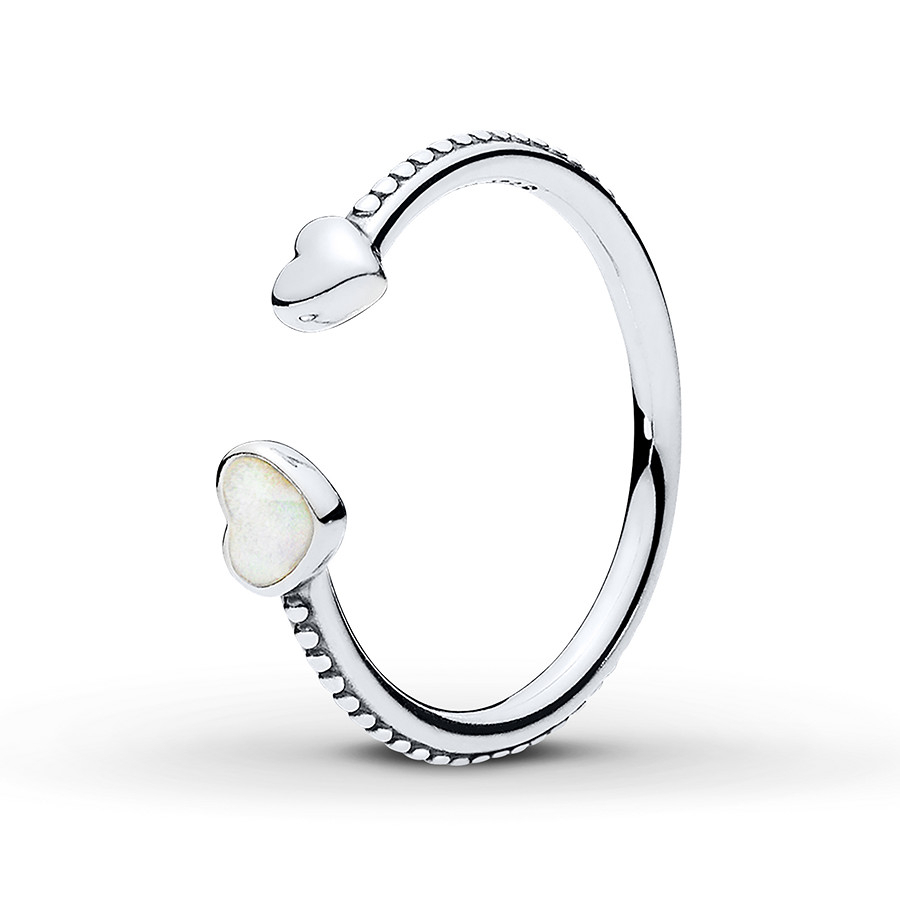 Pandora Ring Hearts Of Love Sterling Silver Throughout 2017 Hearts & Pandora Logo Rings (View 14 of 25)
