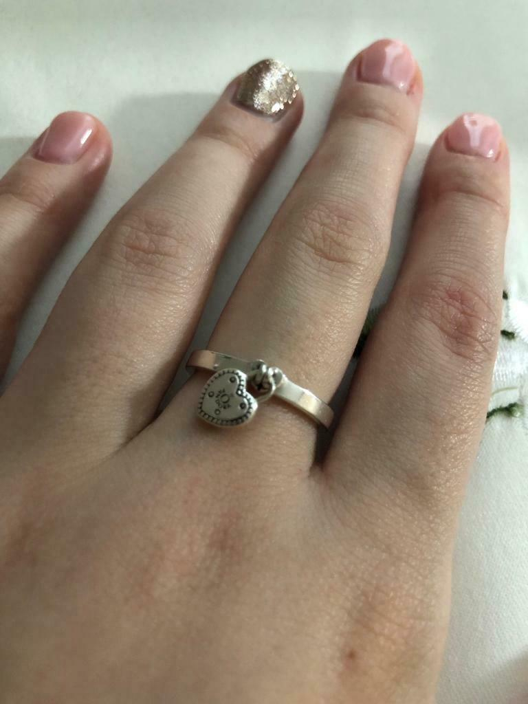 Pandora Ring | In Stanway, Essex | Gumtree Intended For Latest Heart Shaped Padlock Rings (View 6 of 25)