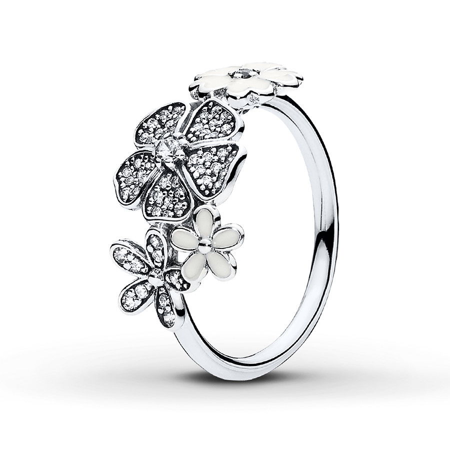 Pandora Ring Shimmering Bouquet Sterling Silver With Best And Newest Shimmering Knot Rings (View 16 of 25)