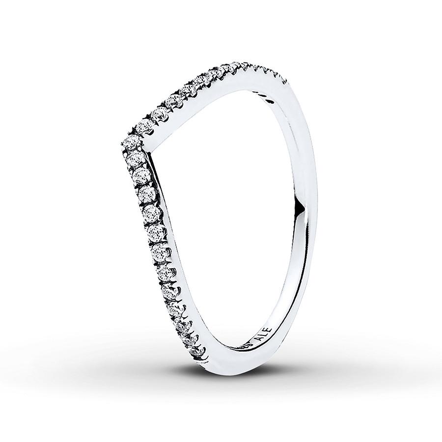 Pandora Ring Shimmering Wish Sterling Silver With Regard To 2017 Tiara Wishbone Rings (View 12 of 25)