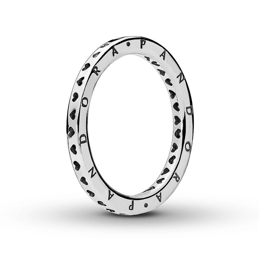 Pandora Ring Signature Hearts Of Pandora Sterling Silver In Most Popular Pandora Logo & Hearts Rings (View 19 of 25)