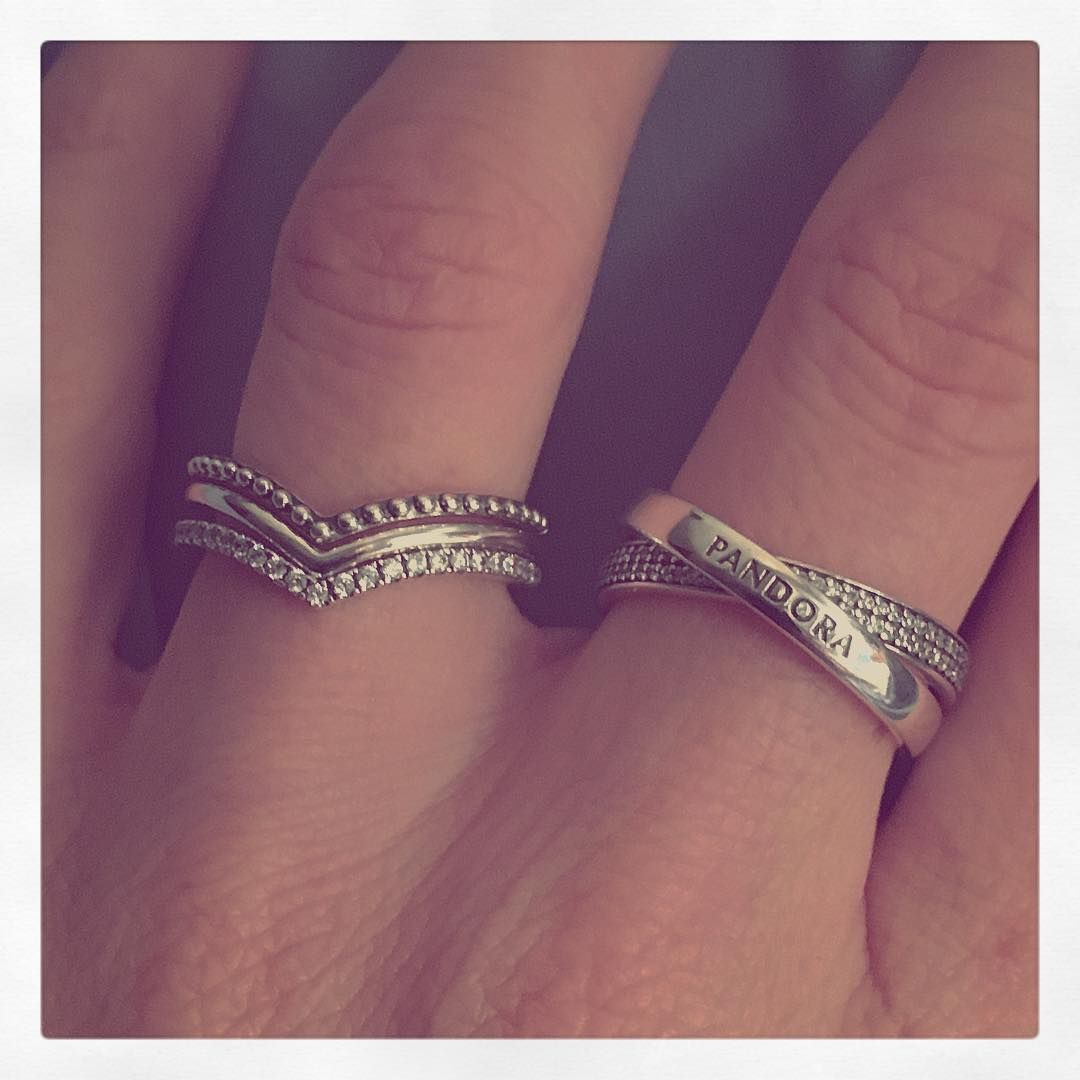 Featured Photo of Sparkling Wishbone Rings