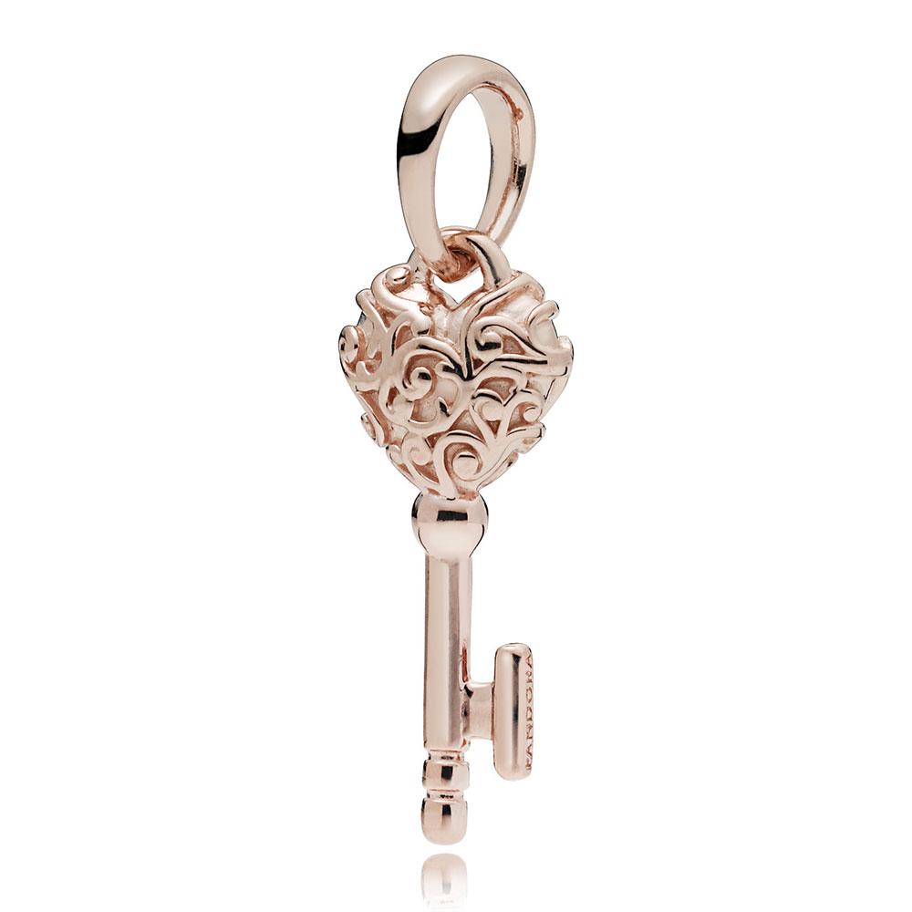 Pandora Rose™ Regal Key Pendant / Charm Throughout 2019 Regal Key Pendant Necklaces (View 13 of 25)