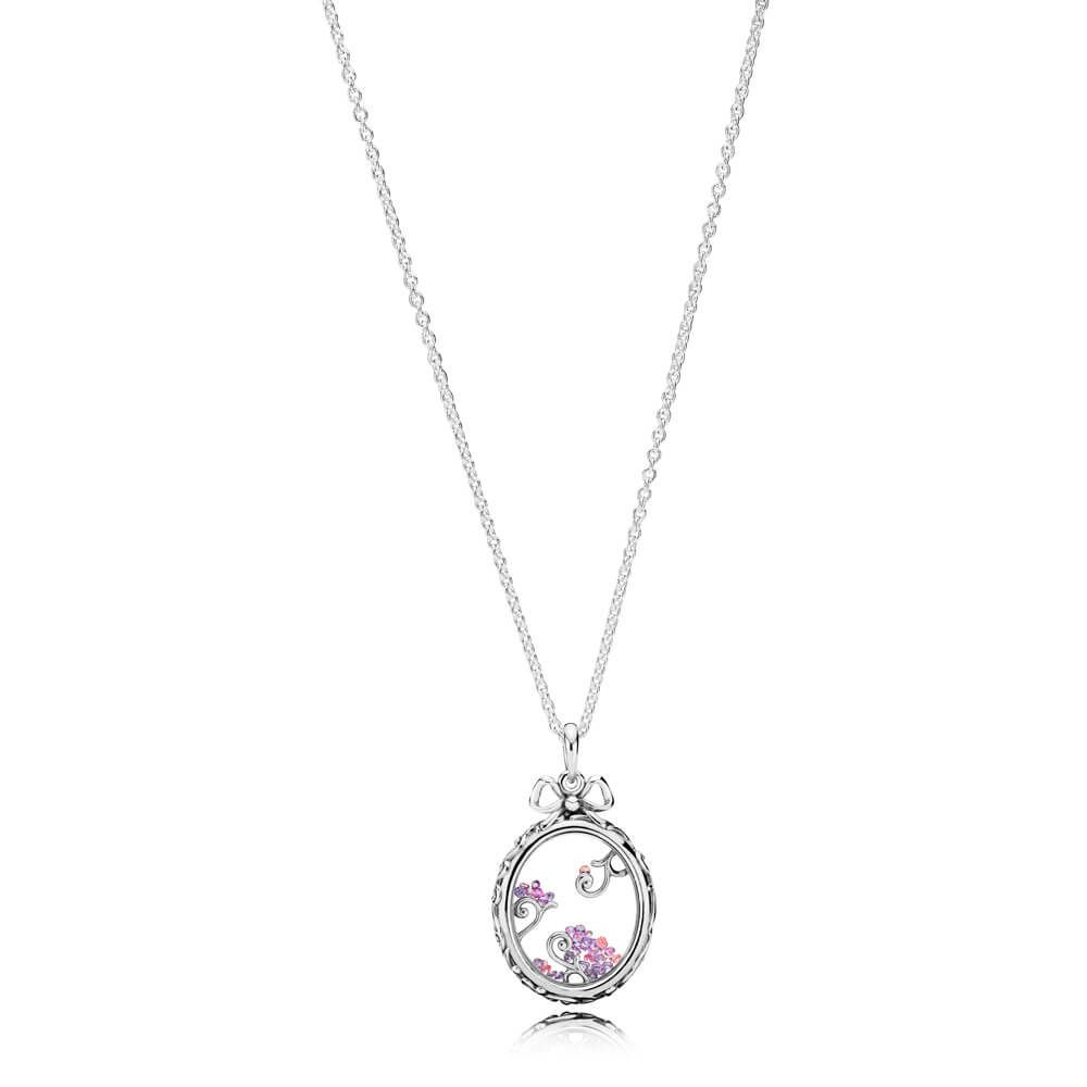 Pandora Sale Uk | Letter W Petite Locket Charm | 797341 With Most Recent Shimmering Snowflake Locket Element Necklaces (View 22 of 25)