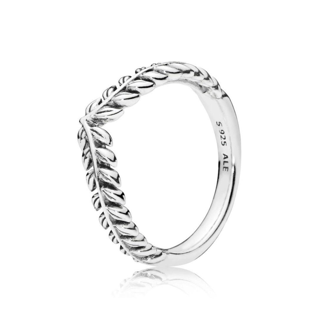 Pandora Seeds Wishbone Ring, Women's Fashion, Jewellery, Rings On Intended For Most Recent Tiara Wishbone Rings (View 19 of 25)