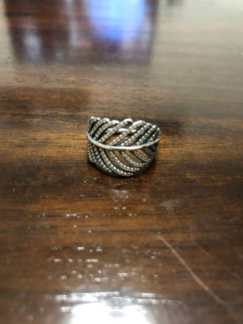 Featured Photo of Shimmering Feather Rings