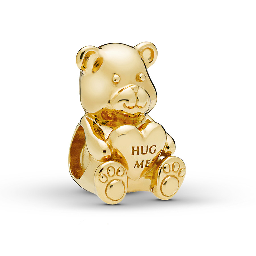 Pandora Shine Charm Theodore Bear With Regard To Most Up To Date Theodore Bear Pendant Necklaces (View 3 of 25)
