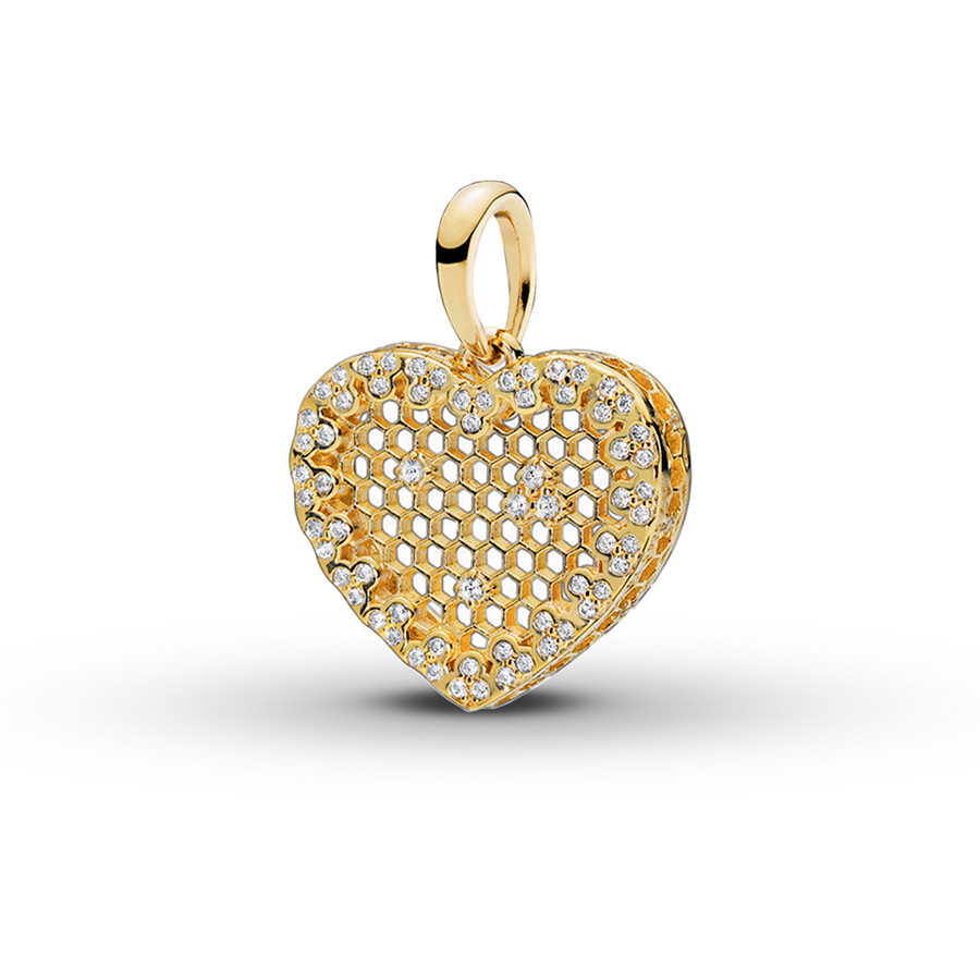 Pandora Shine Pendant Honeycomb Lace St (View 17 of 25)
