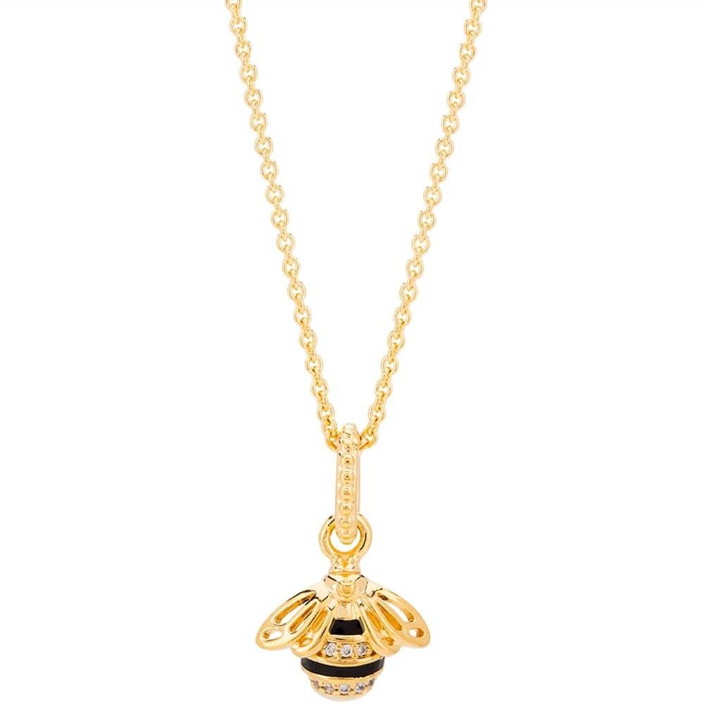Pandora Shine Queen Bee Complete Pendant Necklace Cn146 Within Latest Queen Bee Pendant Necklaces (View 2 of 25)