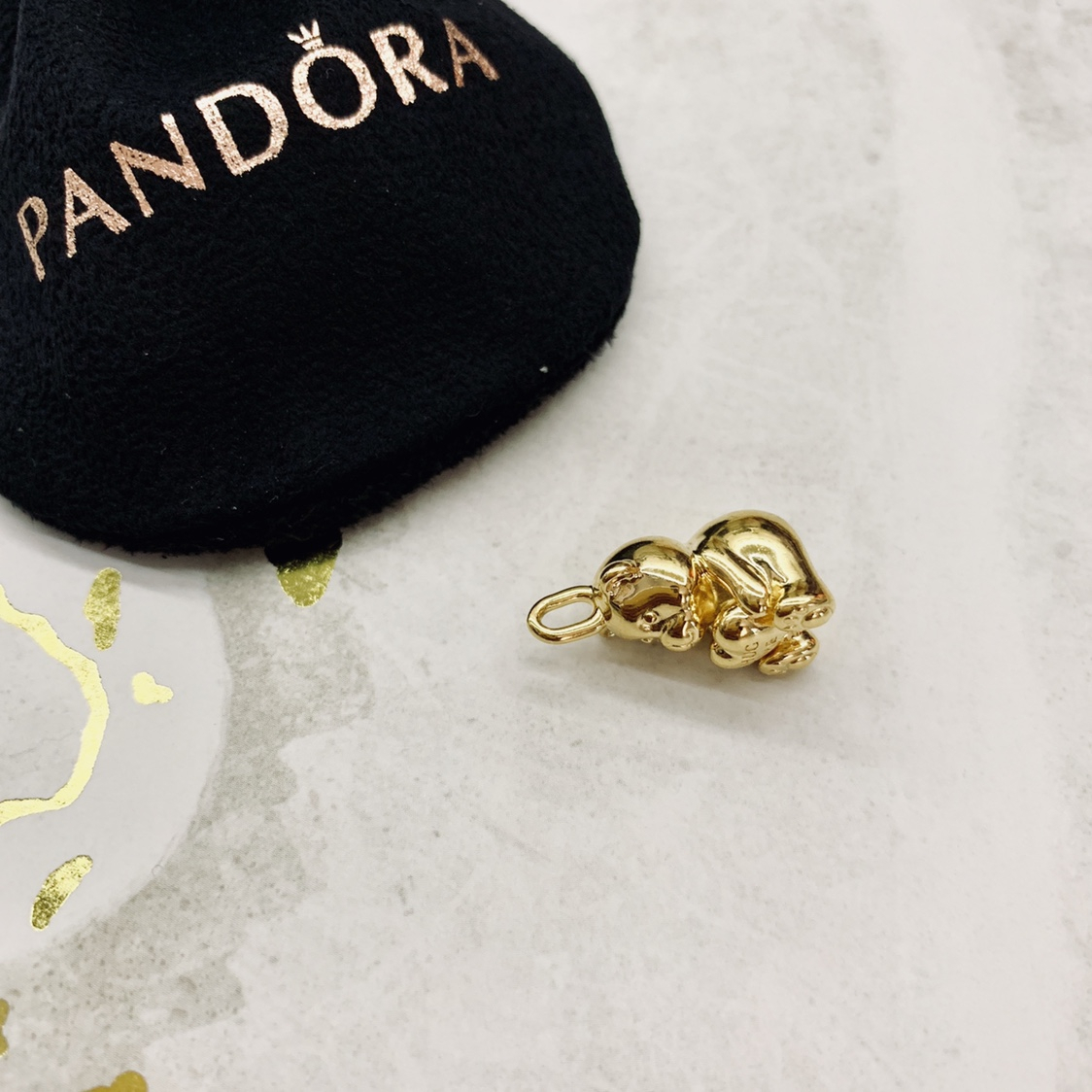 Pandora Shine Theodore Bear Pendant (not For A – Depop Inside Most Up To Date Theodore Bear Pendant Necklaces (View 11 of 25)