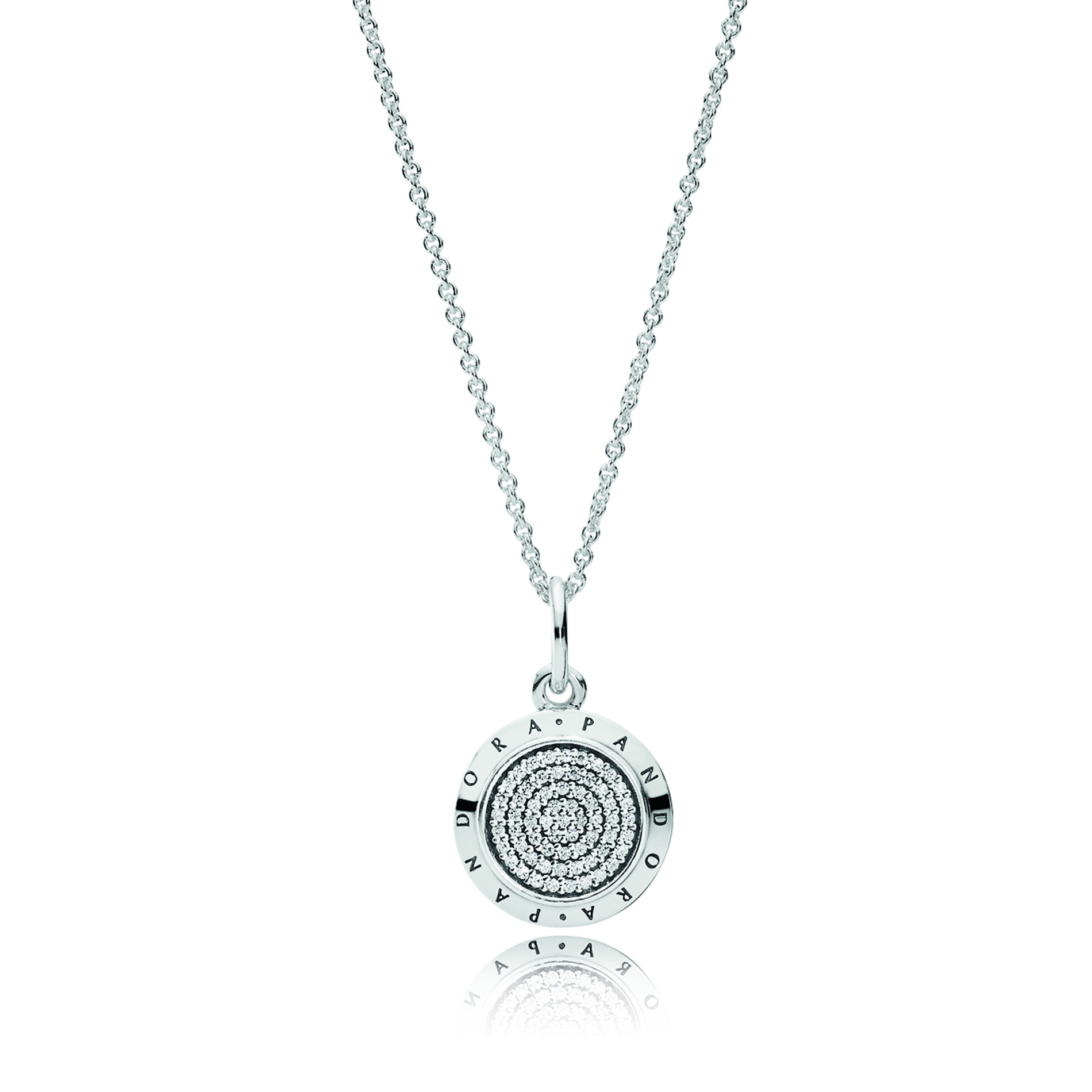 Pandora Signature Necklace, 70Cm Regarding Most Up To Date Pandora Lockets Logo Necklaces (View 15 of 25)