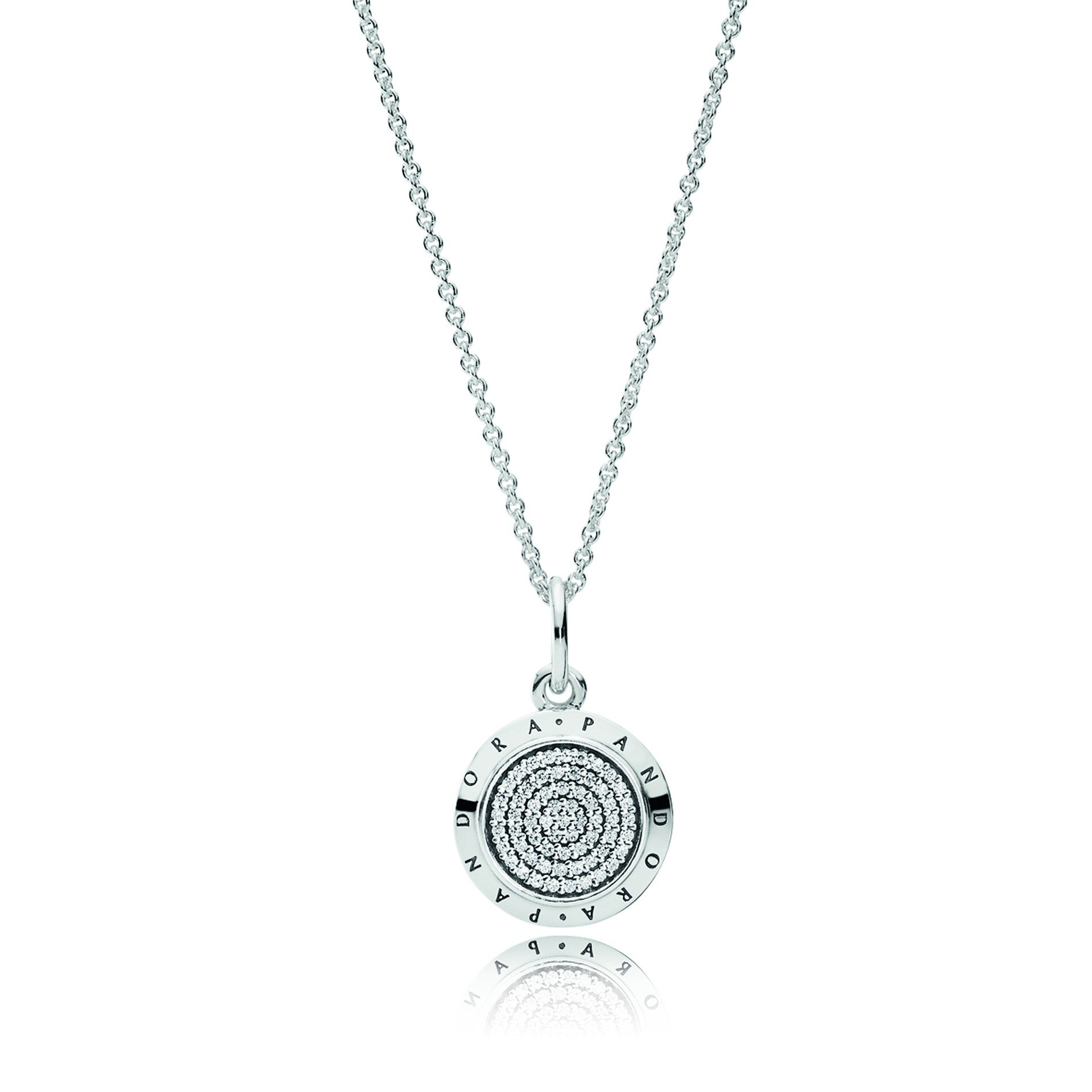 Pandora Signature Necklace, 70cm With Most Up To Date Pandora Lockets Logo Necklaces (View 17 of 25)