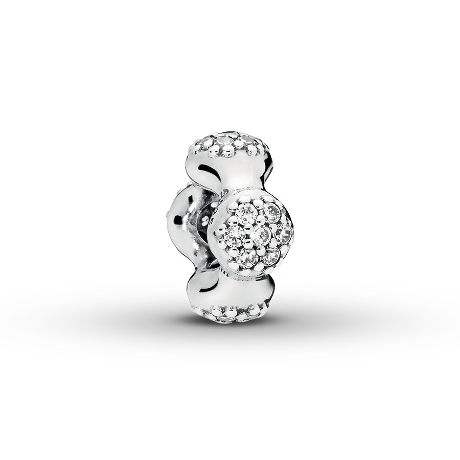 Pandora Spacer Modern Lovepods Sterling Silver – 802422903 – Jared Pertaining To Latest Pavé Modern Lovepods Rings (View 7 of 25)