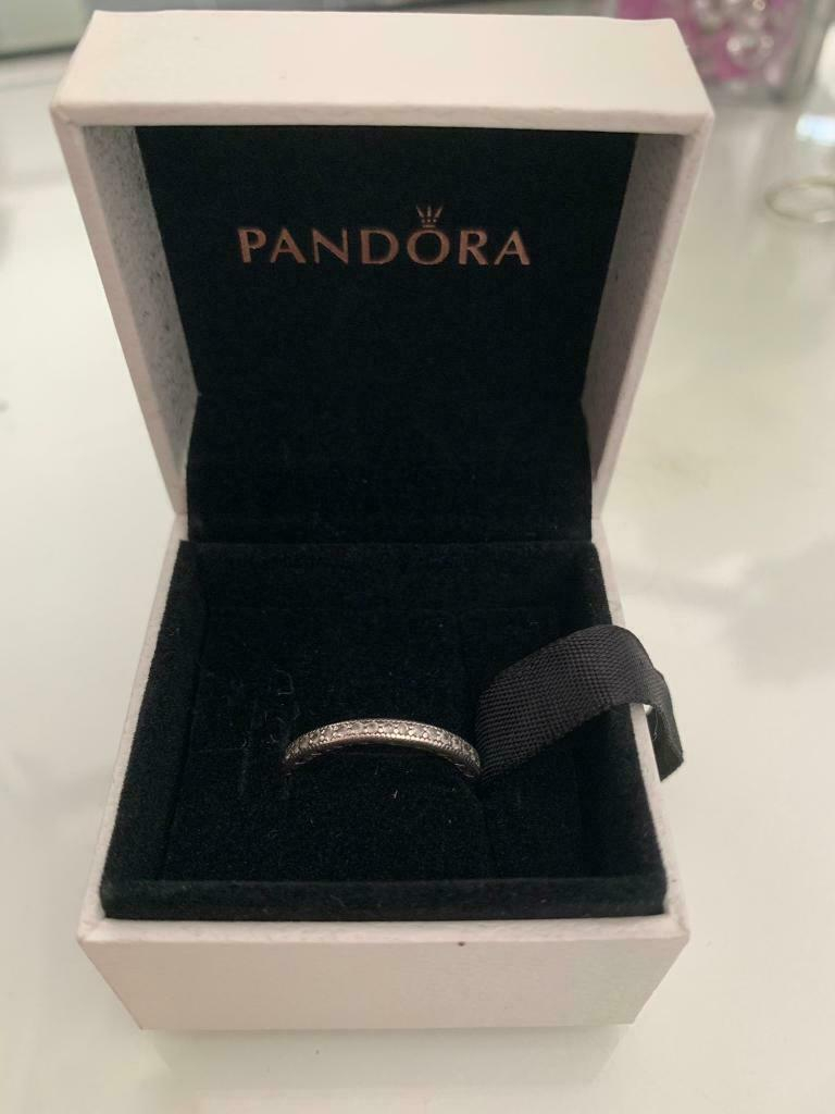 Pandora 'sparkle & Hearts' Ring | In Poole, Dorset | Gumtree Intended For Most Current Sparkle & Hearts Rings (View 2 of 25)