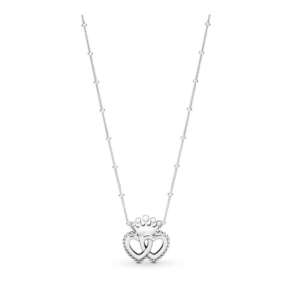 Pandora United Regal Hearts Necklace With Best And Newest Hearts Of Pandora Necklaces (View 22 of 25)
