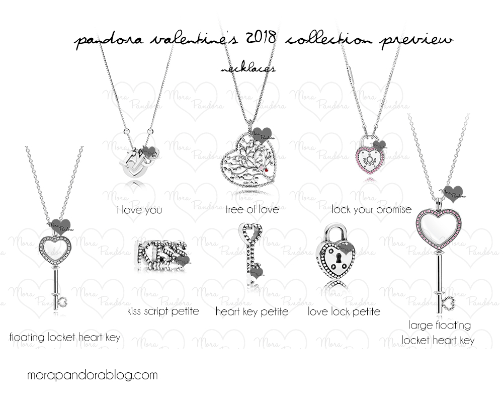 Pandora Valentine's Day 2018 Collection Preview | Mora Pandora Within Newest Pandora Lockets Heart Key Necklaces (Gallery 12 of 25)