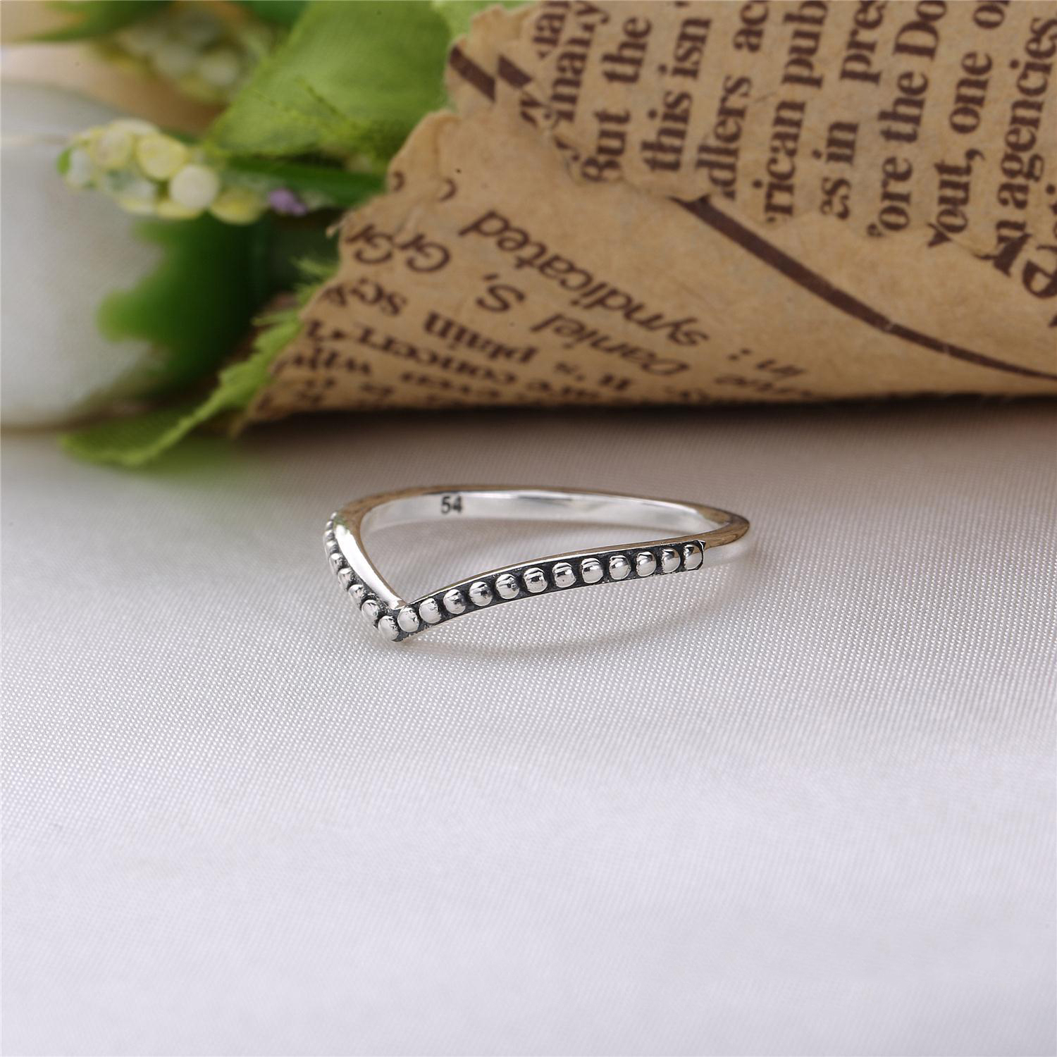 Pandora Wishbone Ring – Free Delivery Available (View 6 of 25)