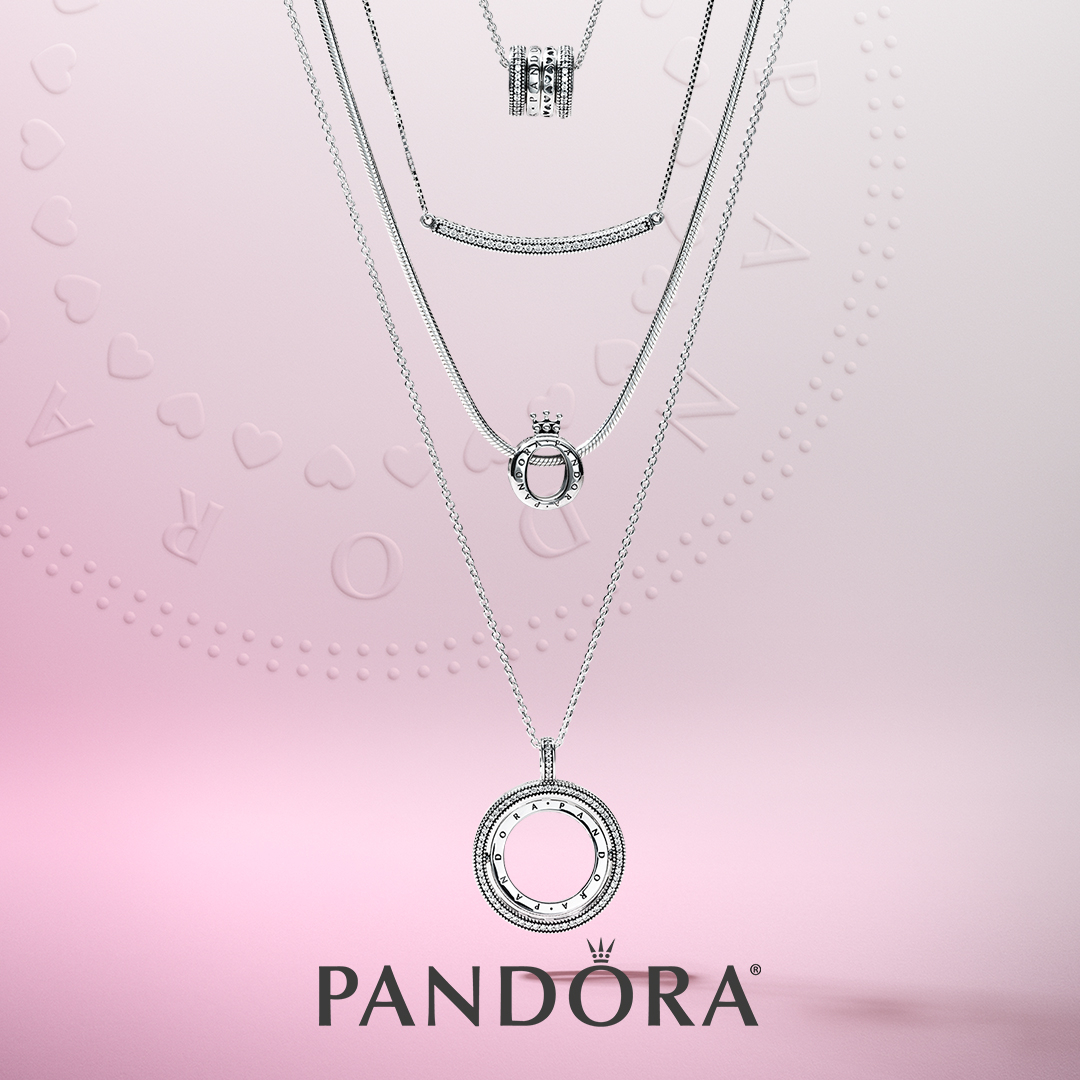 Pandora's New Signature Collection Throughout Most Recently Released Pandora Logo Pavé Pendant Necklaces (View 6 of 25)