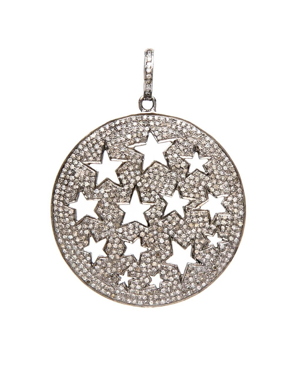 Pave Star Pendant Within Most Recently Released Pavé Star Locket Element Necklaces (View 2 of 25)