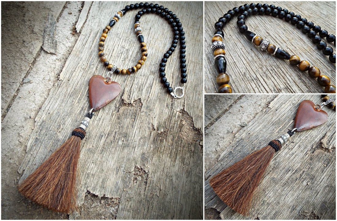 Pendants And Necklaces – Equus Spirit Jewellery® For Most Current Ornate Hearts Tassel Necklaces (View 15 of 25)