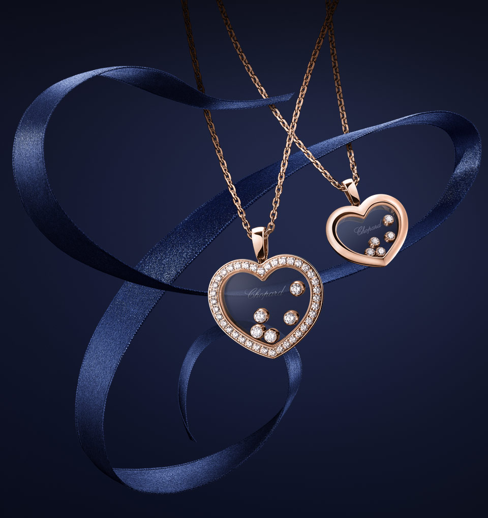Pendants For Women | Chopard Official Website Pertaining To Newest Pink Pavé Butterfly Collier Necklaces (View 19 of 25)