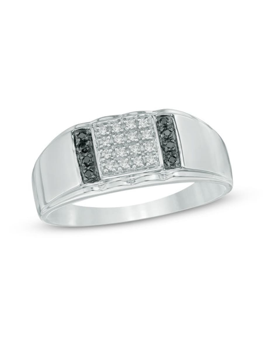 Peoples Men's 0.12 Ct. T.w (View 12 of 25)