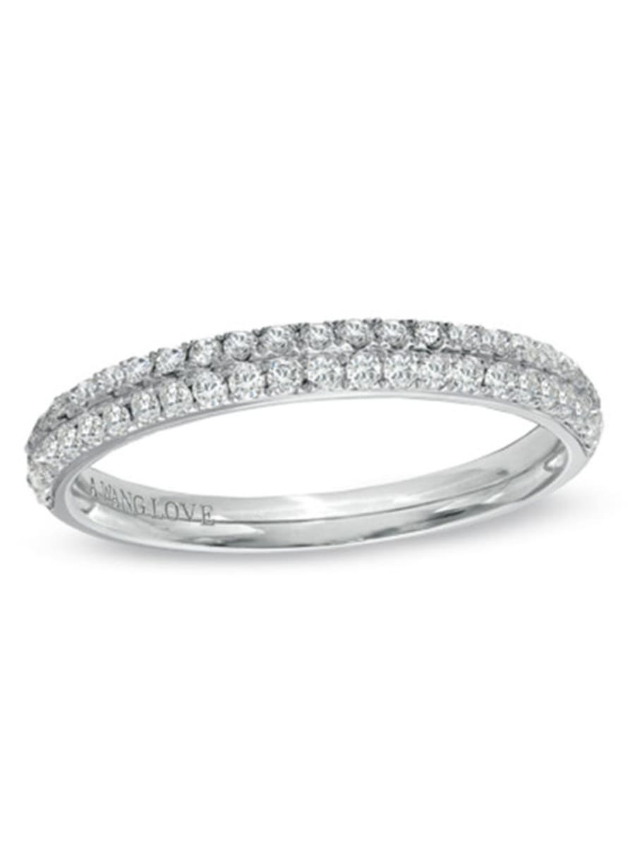 Peoples Vera Wang Love Collection 0.37 Ct. T.w (View 5 of 25)
