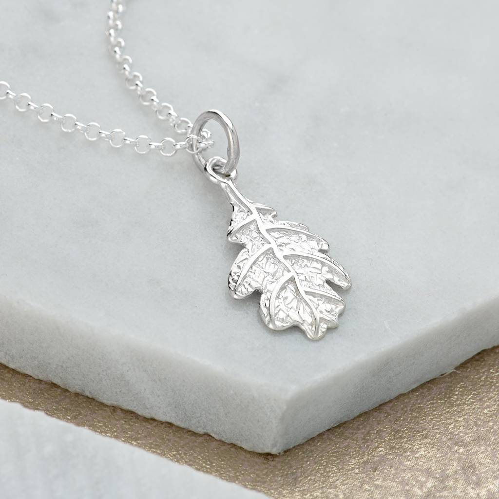Featured Photo of Oak Leaf Necklaces