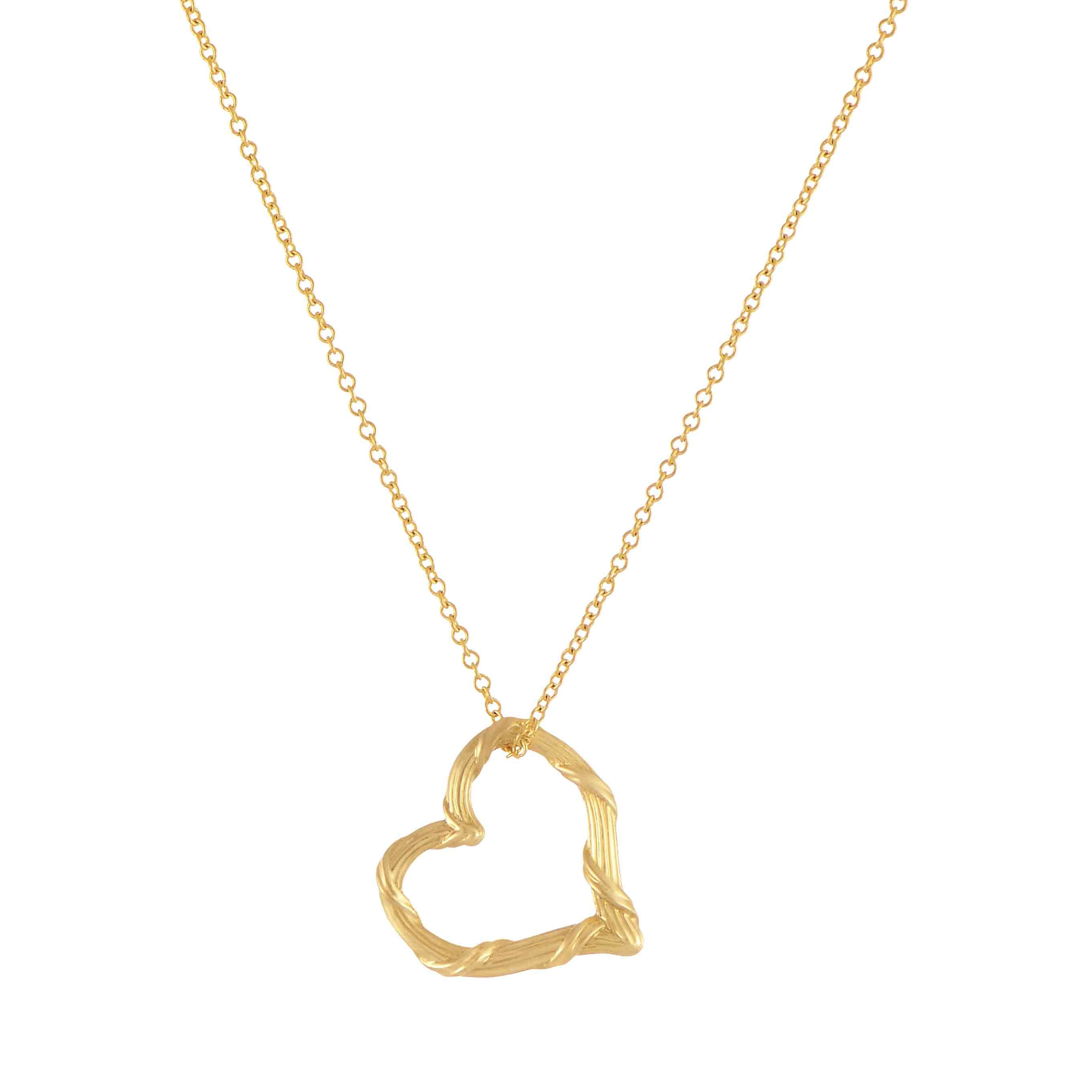Peter Thomas Roth Heritage Floating Heart Pendant Necklace In 18k Inside Most Up To Date Joined Hearts Chain Necklaces (View 3 of 25)