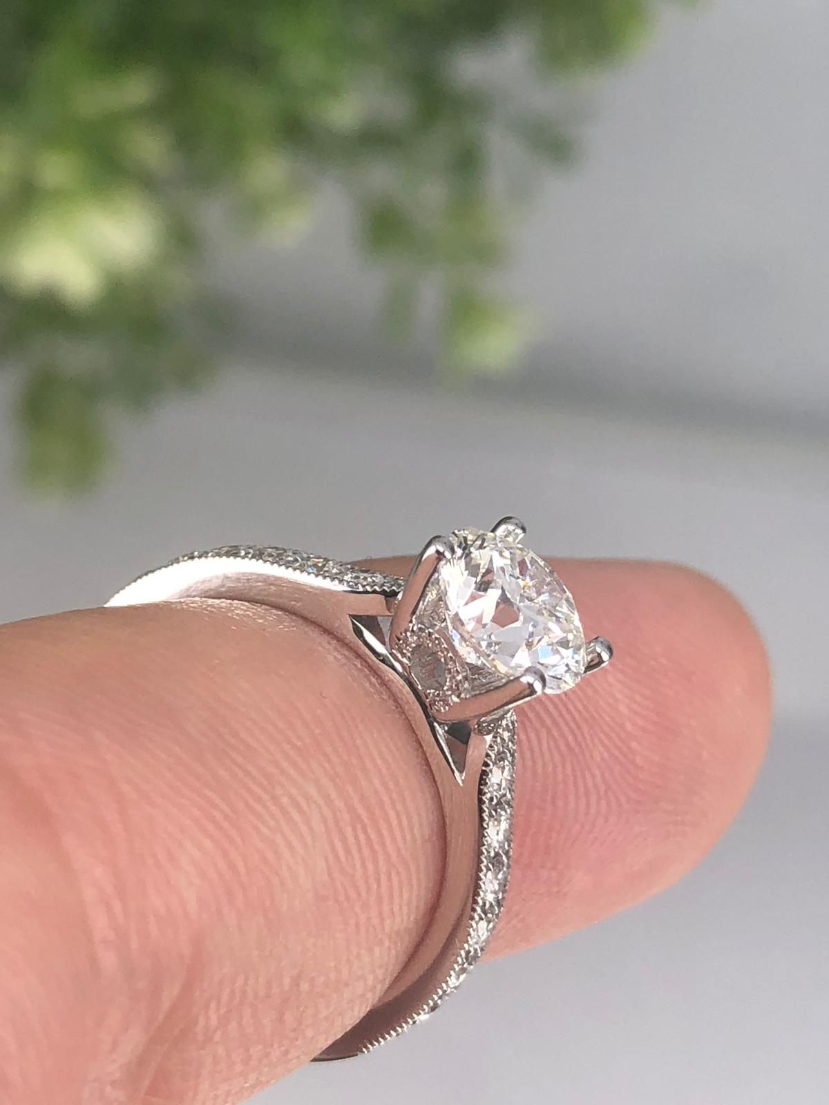 Pin On Custom Diamond Jewelry With Regard To Current Composite Diamond Five Stone Anniversary Bands In White Gold (View 17 of 25)