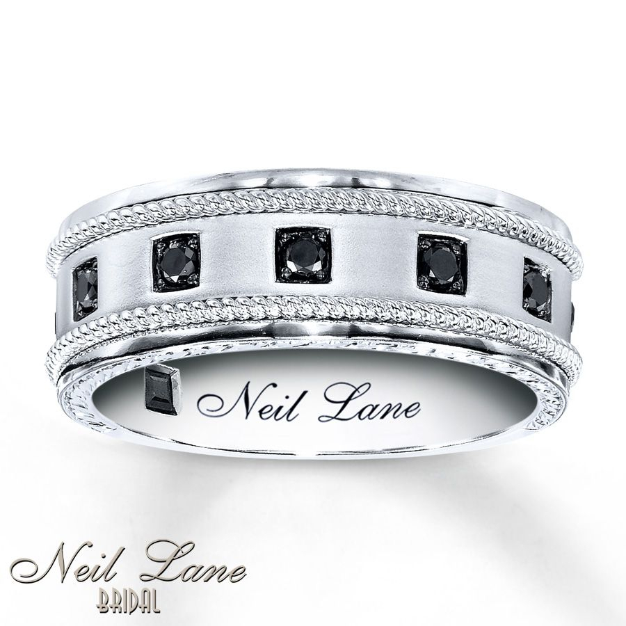 Pin On Jewelery In 2020 Enhanced Black Diamond Anniversary Bands In Sterling Silver (Gallery 20 of 25)
