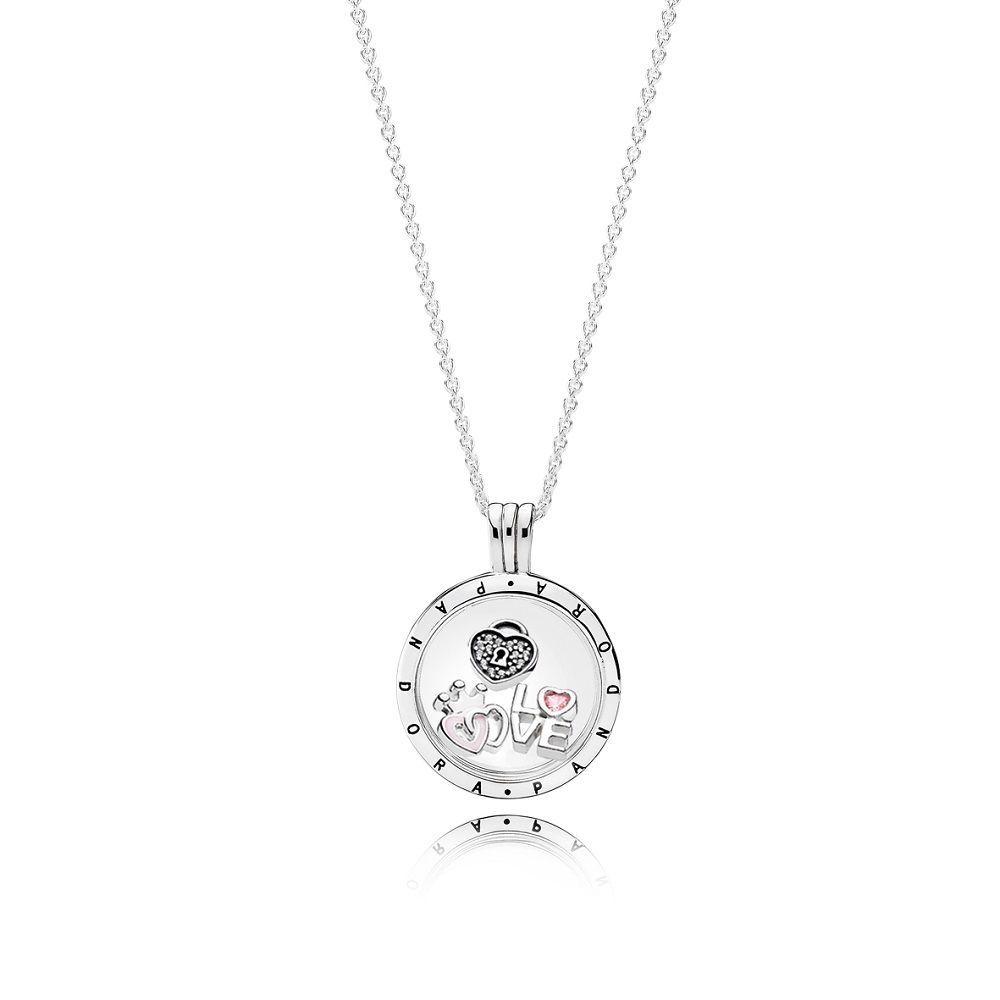 Pinbianca Riley On Pandora In 2019 | Pandora Floating Locket In 2019 Pandora Lockets Logo Dangle Charm Necklaces (View 5 of 25)