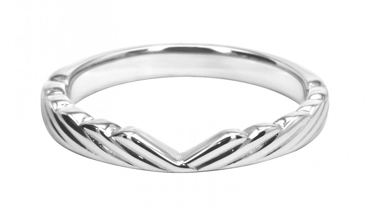 Plain Vintage Wishbone Wedding Ring With Regard To Current Classic Wishbone Rings (View 21 of 25)