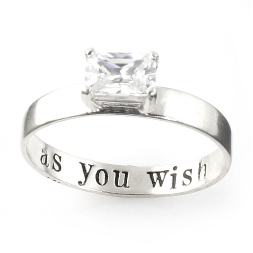 "Princess Bride ""as You Wish"" Engagement Ring – Spiffing Jewelry With Most Recently Released Princess Wish Rings (Gallery 19 of 25)"
