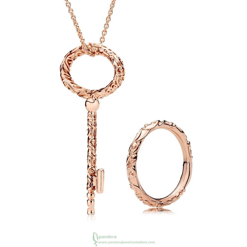 Promo Pandora The Autumn Collection | Pandora Shine & Silver Within Newest Regal Key Pendant Necklaces (View 16 of 25)