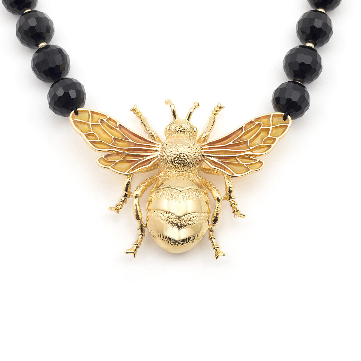 Queen Bee Statement Necklace Throughout Most Recent Queen Bee Pendant Necklaces (Gallery 3 of 25)