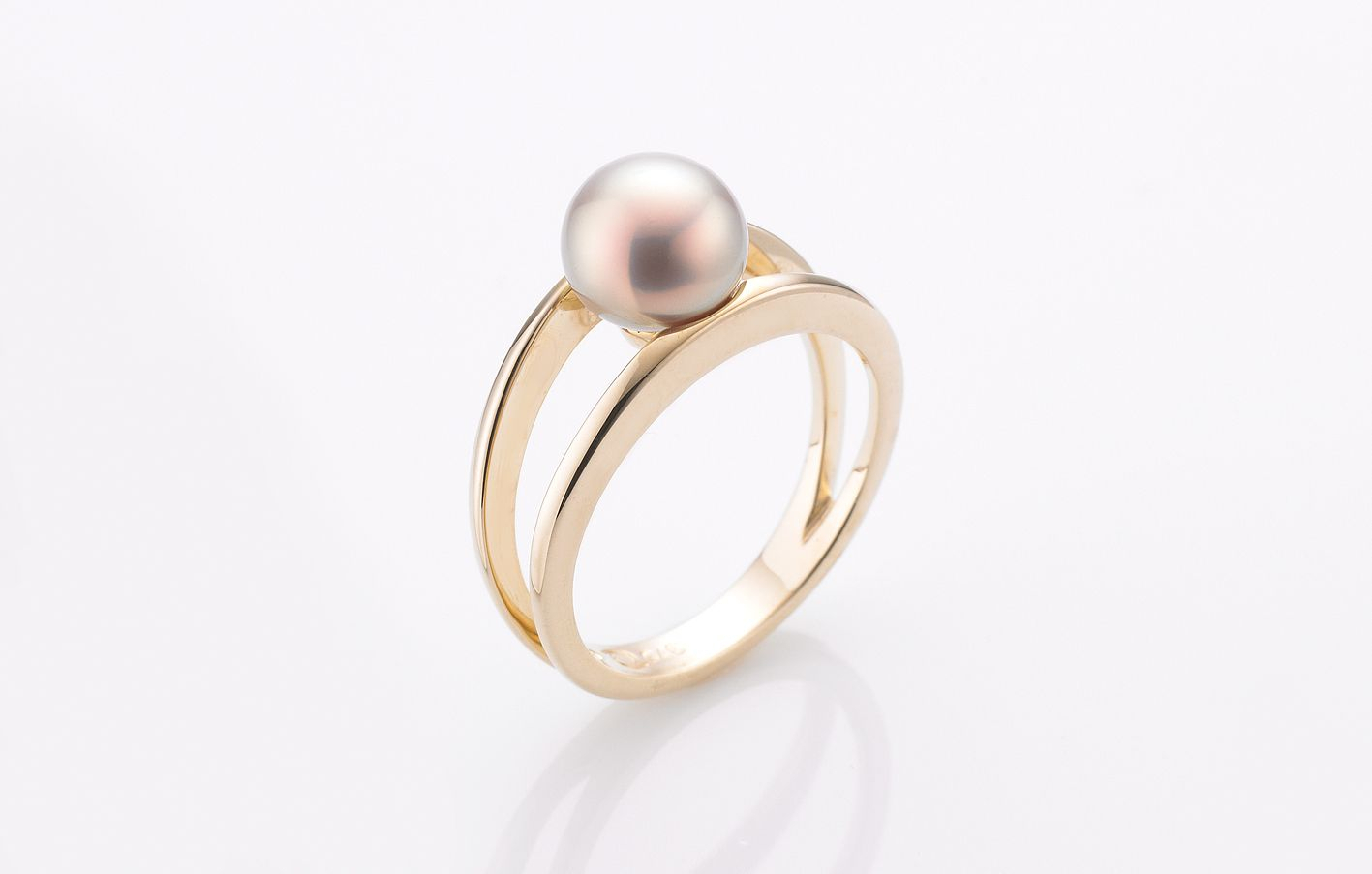 Raw Pearls Freshwater Cultured Pearl Ring (View 5 of 25)