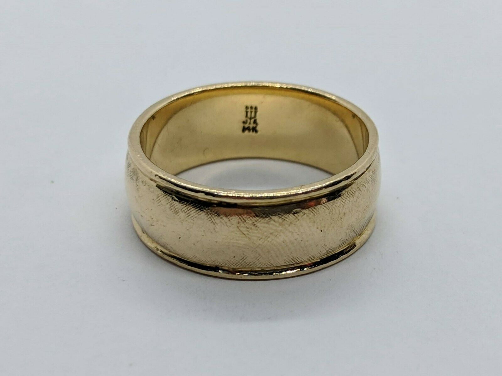 Retired James Avery 14K Yellow Gold Regal Wedding Band Ring Size 9.5 Free  Ship Inside Most Popular Regal Band Rings (Gallery 22 of 25)