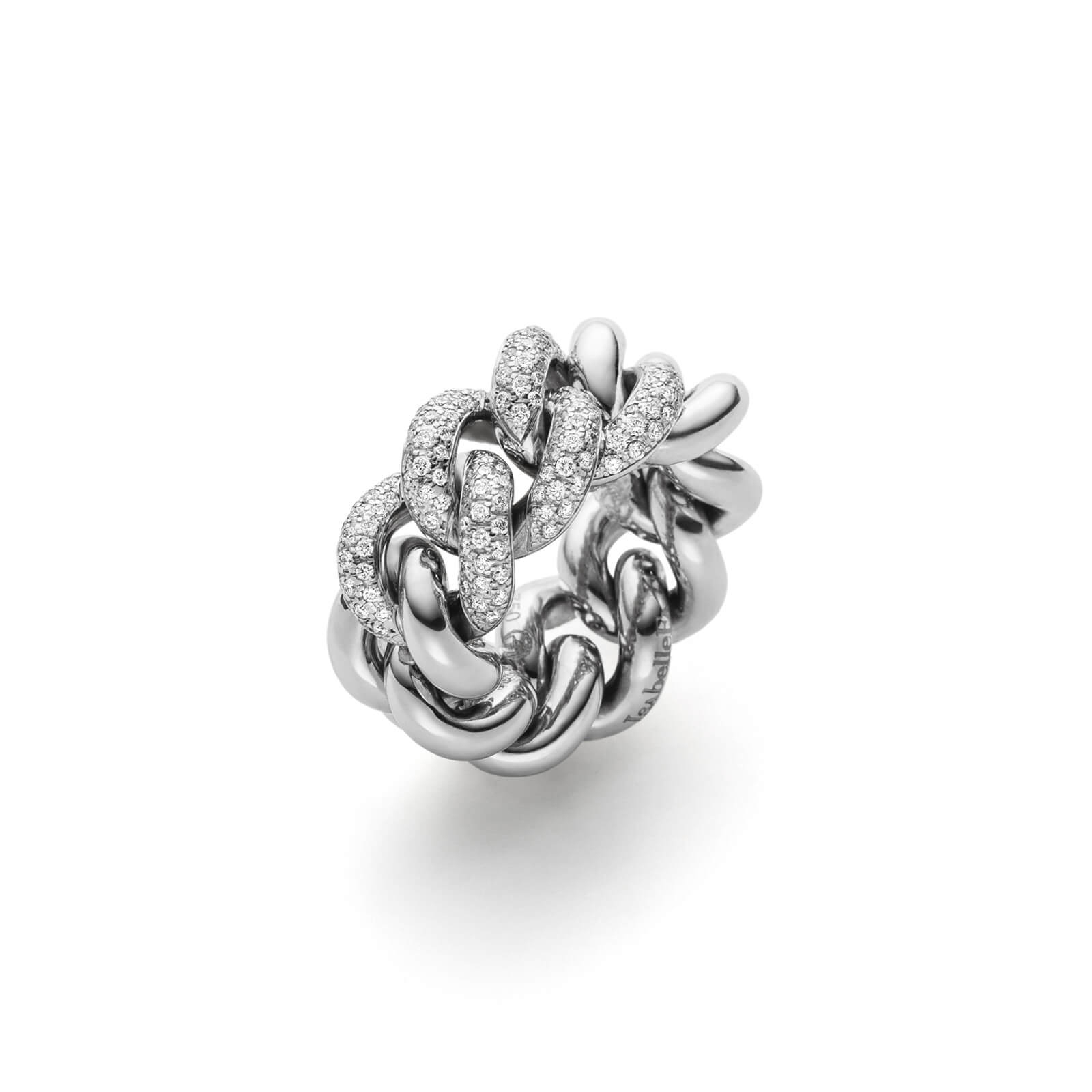 Ring – Altesse 12 Pavé | Isabellefa In Most Current Pavé Flower Rings (Gallery 18 of 25)