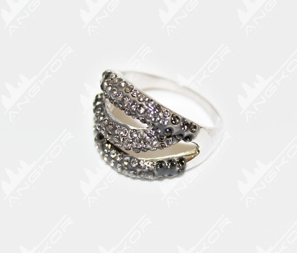 Ring Elegant Strass D – Angkor925 Intended For Current Elegant Sparkle Rings (View 16 of 25)
